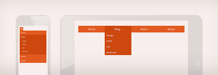 Drop-Down Navigation: Responsive and Touch-Friendly